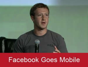 facebook goes mobile